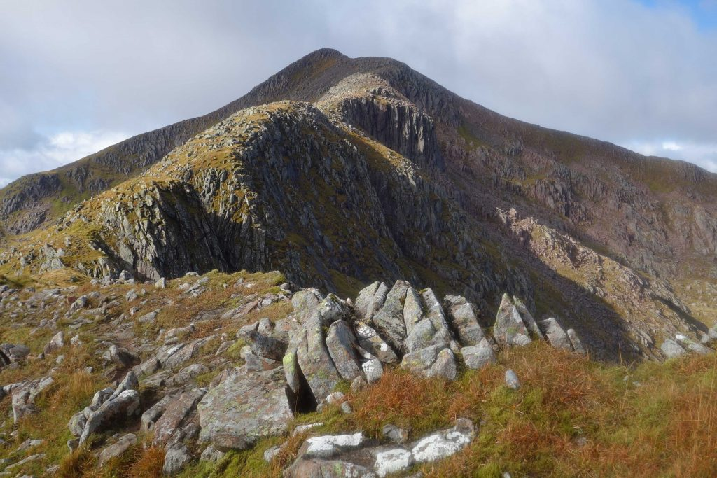 looking back to Ben Cruachan – 23rd September 2018